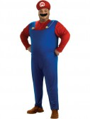 Super Mario Bros. - Mario Adult Plus Costume