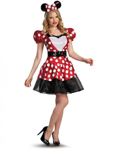 Red Minnie Plus Size Glam Costume
