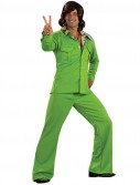 Leisure Suit Deluxe (Lime) Adult Costume