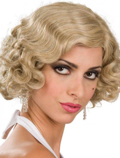 Flapper Wig Adult (Blonde)