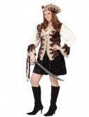 Royal Lady Pirate Adult Plus Costume