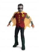 The Blackest Night Deluxe Zombie Robin Child Costume