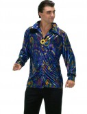 Dynomite Dude Disco Shirt Adult Costume