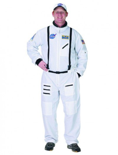 NASA Astronaut White Suit Adult Costume