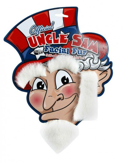 Uncle Sam Adult Facial Fur