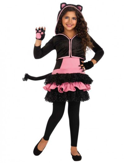 Black Kitty Hoodie Child Costume