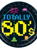 Totally 80's - Dinner Plates (8 count)
