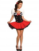 Secret Wishes Naval Pinup Adult Costume