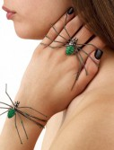 Spider Ring/Bracelet (Green)