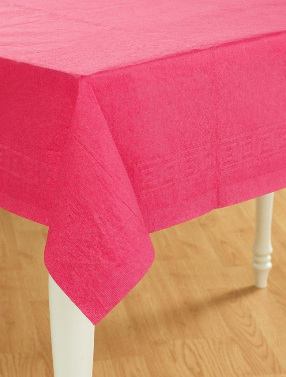 Candy Pink (Hot Pink) Paper Tablecover