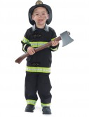 Firefighter Black Child Costume