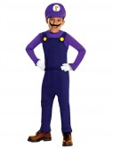 Super Mario Bros. - Waluigi Deluxe Toddler / Child Costume