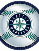 Seattle Mariners Baseball - Round Dinner Plates (18 count)