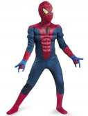 The Amazing Spider-Man Classic Muscle Chest Child Costume