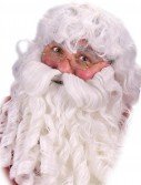 Deluxe Santa Wig  Beard and Eyebrows Set