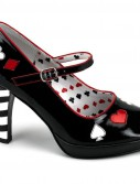 Sexy Queen of Hearts Adult Shoes