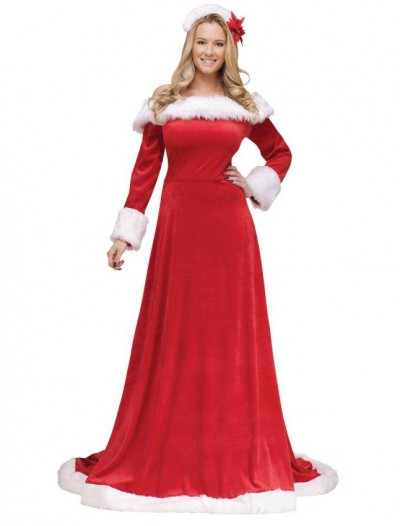 Lady Santa Dress Adult Costume