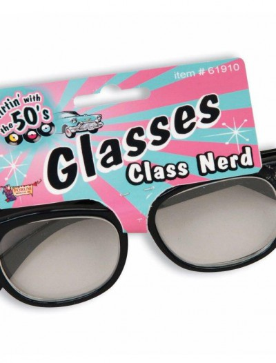 Class Nerd Glasses with Clear Lenses