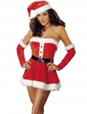 Santa's Sweetie Red Adult Costume
