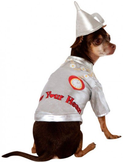 Wizard Of Oz - Tin Man Dog Costume
