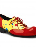 Clown (Patent Polka Dot) Adult Shoes