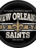 NFL New Orleans Saints Dinner Plates (8 count)