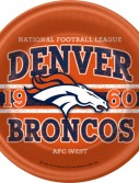 NFL Denver Broncos Dinner Plates (8 counts)