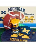 Michigan Wolverines College Deluxe Party Kit