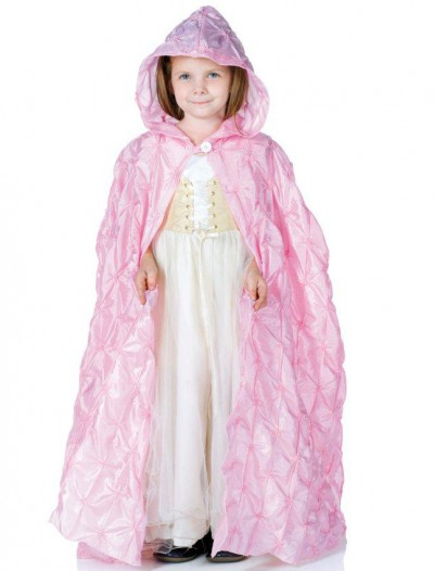 Pink Pintuck Cape (Child)