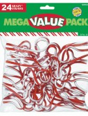 Christmas Krazy Straws (24 count)