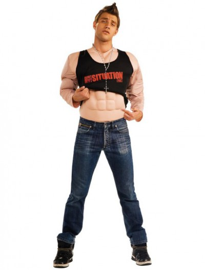 Jersey Shore - Mike The Situation Muscle Adult Costume