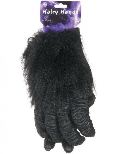 Deluxe Hairy Gorilla Hands (Adult)