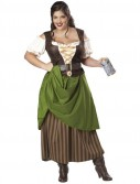 Tavern Maiden Adult Plus Costume
