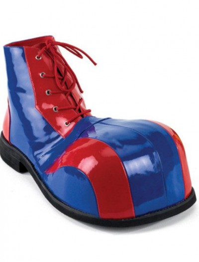 Clown (Blue/Red) Adult Shoes