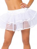 Double Layer Petticoat (White) Adult