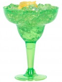 Green Plastic 8 oz. Margarita Glasses (20 count)