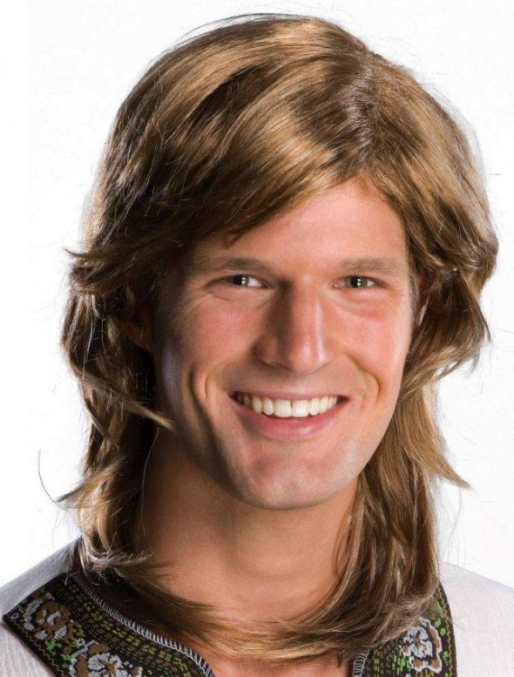 70s Guy Brown Wig Adult