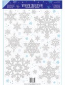 Prismatic Snowflake Window Decoration