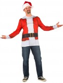 Santa Claus Shirt Adult Costume