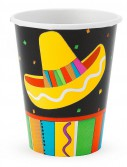 Fiesta Fun 9 oz. Paper Cups (8 count)