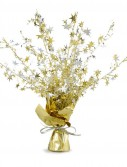 Gold and Silver Stars Foil Spray Centerpiece