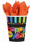 Bright New Year - 9 oz. Paper Cups (50 count)