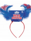 Patriotic Ponytail Head Bopper