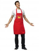 Apron Hot Dog Vendor Adult Costume