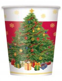 Starry Christmas Tree 9 oz. Paper Cups