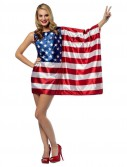 USA Flag Adult Dress