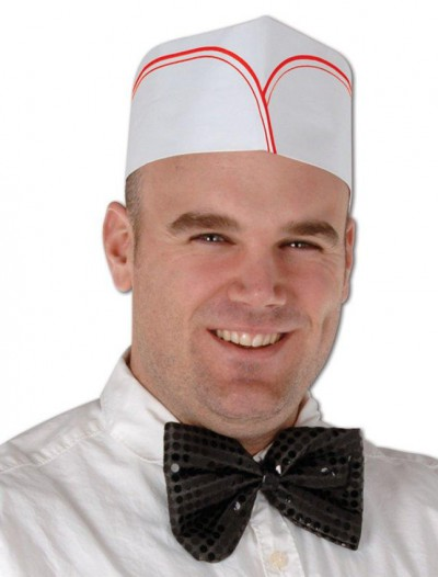 1950's Soda Jerk Hats (4 count)