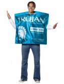 Trojan Lubricated Condom Wrapper Adult Costume