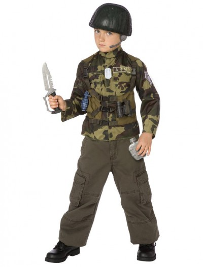 Army Ranger Child Costume Kit