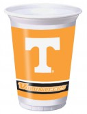 Tennessee Volunteers - 20 oz. Plastic Cups (8 count)